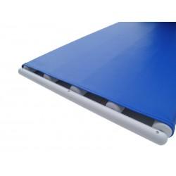 Niebieskie rolki (przeno?nik ta?mowo - rolkowy) do przenoszenia pacjenta, 600x500mm
