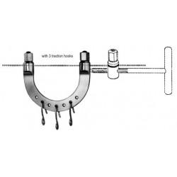 klamra KIRSCHNER [wyciagowa] wym. 9,5x7cm
