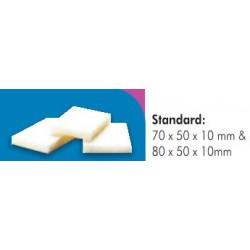 g?bka (opatrunek) hemostatyczna o wym. 80x50x10mm - ?elatynowa,Scrofalon Standard