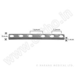 p?ytka 1/3 3,5mm, rynienkowa, 4-otworowa