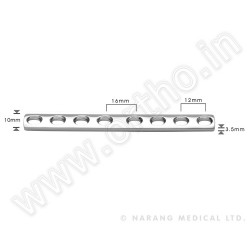 p?ytka DCP 3,5mm, 2-otworowa