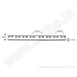 p?ytka DCP 3,5mm, 6-otworowa