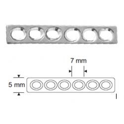 płytka DCP 2,0mm 2-otworowa